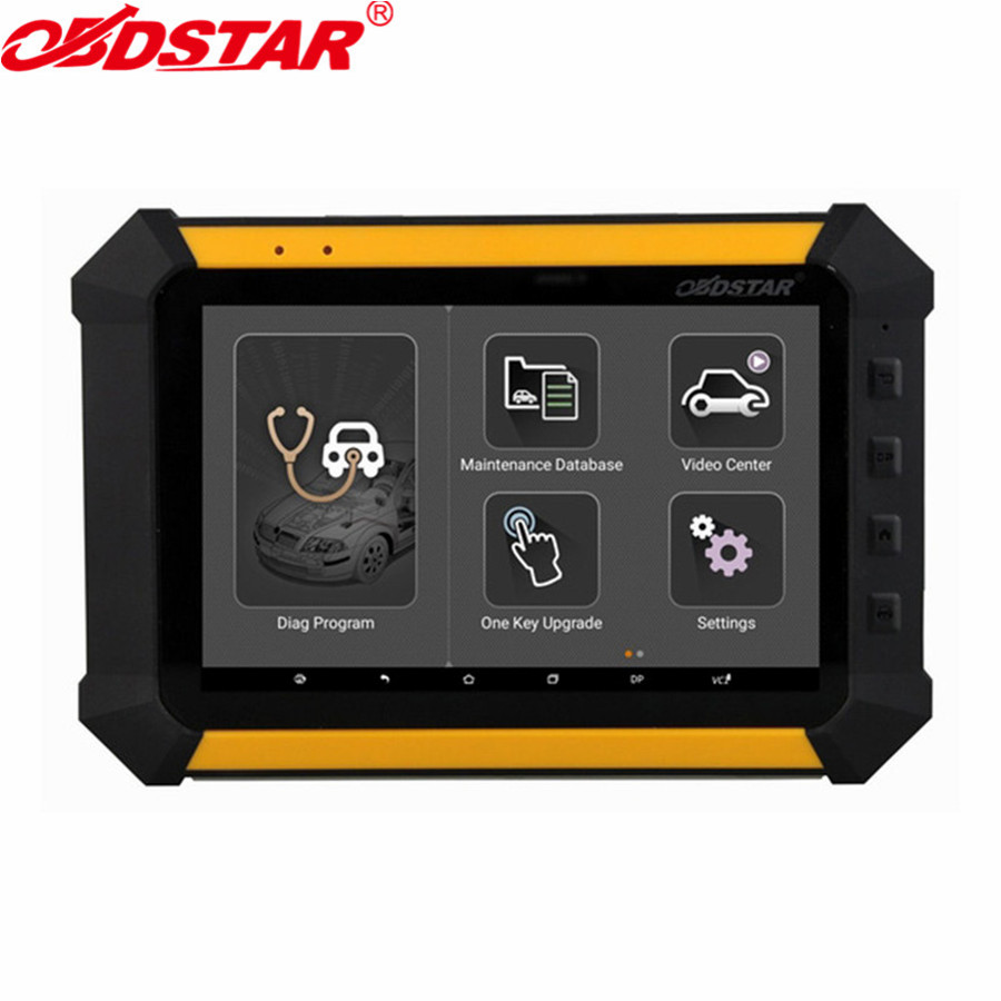 OBDSTAR X300 DP PAD X-300DP Tablet Key Programmer Support for Toyota G & H Chip All Keys Lost andfor BMW FEM/BDC Key Programming