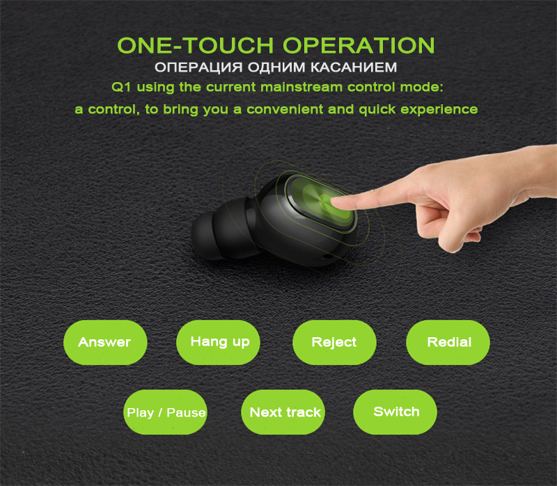Q1 Q26 K8 Mono Stereo Bluetooth Earphone And Hidden Invisible Earpiece For Phones 9