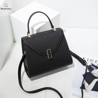 100% Genuine Leather Bag Bolsas Feminina Luxury Handbags Women Bag Designer Clutch Bolsas Victor Hugo Italian Genuine Leather