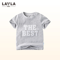 2017 LAVLA New High Quality 100 Cotton Summer Clothes Short Sleeve Kids T Shirt Baby Boys