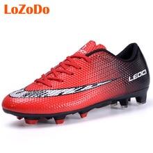 Zapatos de Los Hombres Zapatos de Fútbol FG Botas de Fútbol de Césped al aire libre Largo Spikers NX444 Entrenador Deporte Zapatilla de deporte de Fútbol Tacos de Fútbol De Arranque