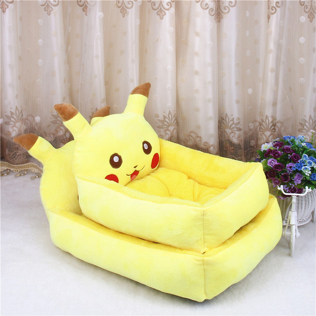6 Colors Joy Cute Animal Cat Dog Pet Beds Mats Teddy Dogs Sofa Pet Bed House Big Blanket Cushion Basket Supplies Cartoon 1