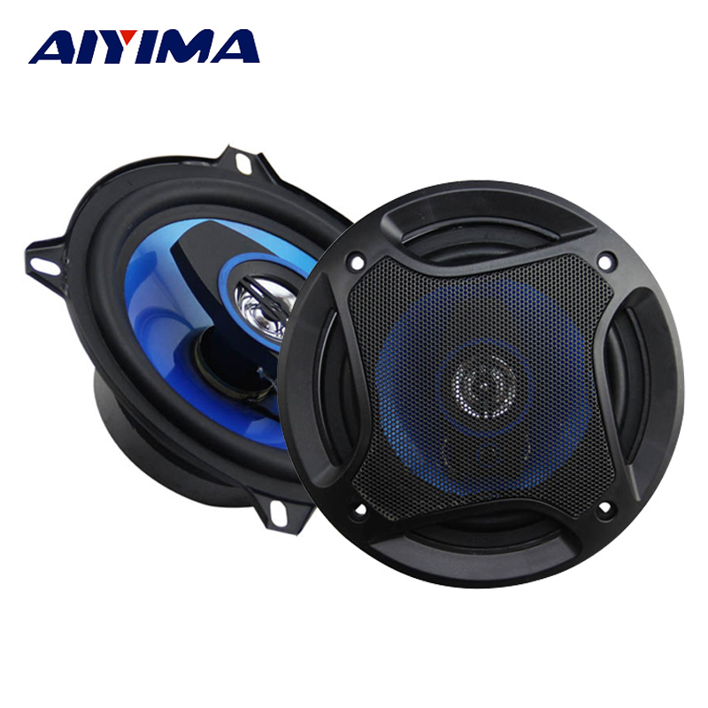 Aiyima 2PC 5Inch 150W 3 Way Coaxial Car Speaker 4Ohm Auto Automobile Audio Speakers HiFi Full Range Frequency Loudspeaker