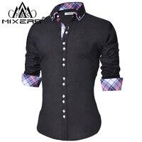 Men's Casual Slim Fit Dress Shirt