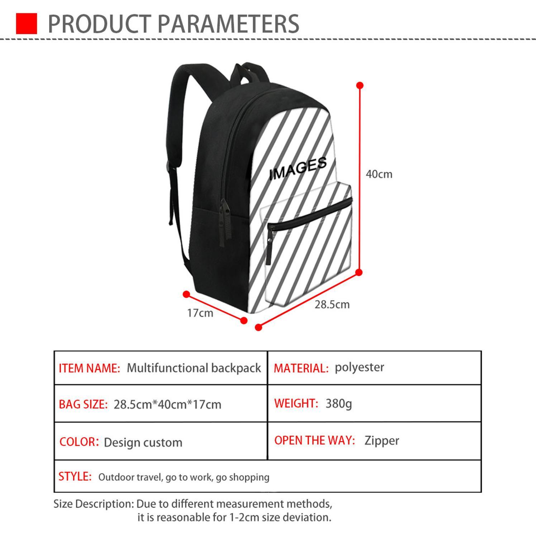Image 4 - FORUDESIGNS Raccoon Junior High School Backpacks For Girls  Primary Kids Bags Large Capacity School Bags For Children MochilaSchool  Bags