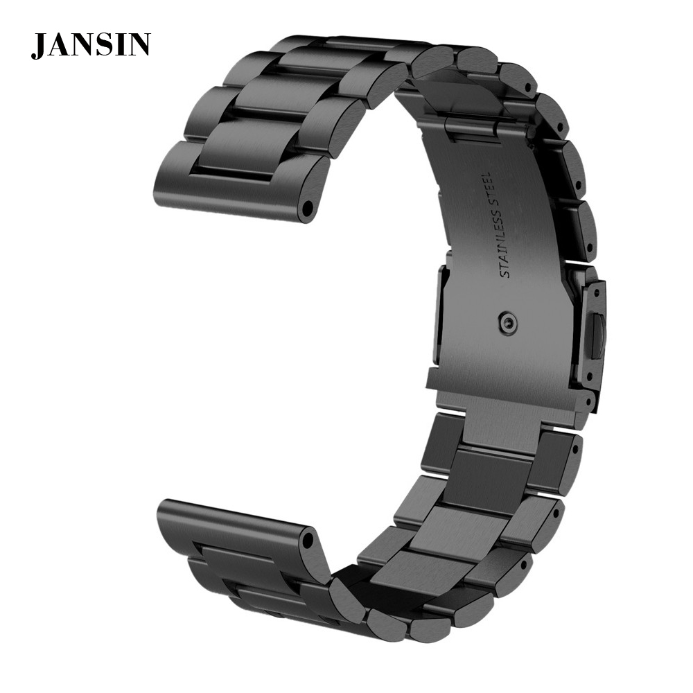 JANSIN Hot Fashion High-quality Stailess Steel Bracelet Strap Watch Band For Garmin Fenix 3 / Fenix 3 HR / Fenix 5X wristband fenix комплект наклеек