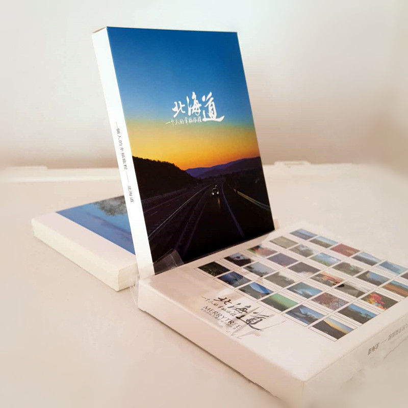 Hokkaido Paper Cards (30pcs/set)Landscape Japan Postcard Set Gift Card 30pcs in one postcard take a walk on the go dubai arab emirates christmas postcards greeting birthday message cards 10 2x14 2cm