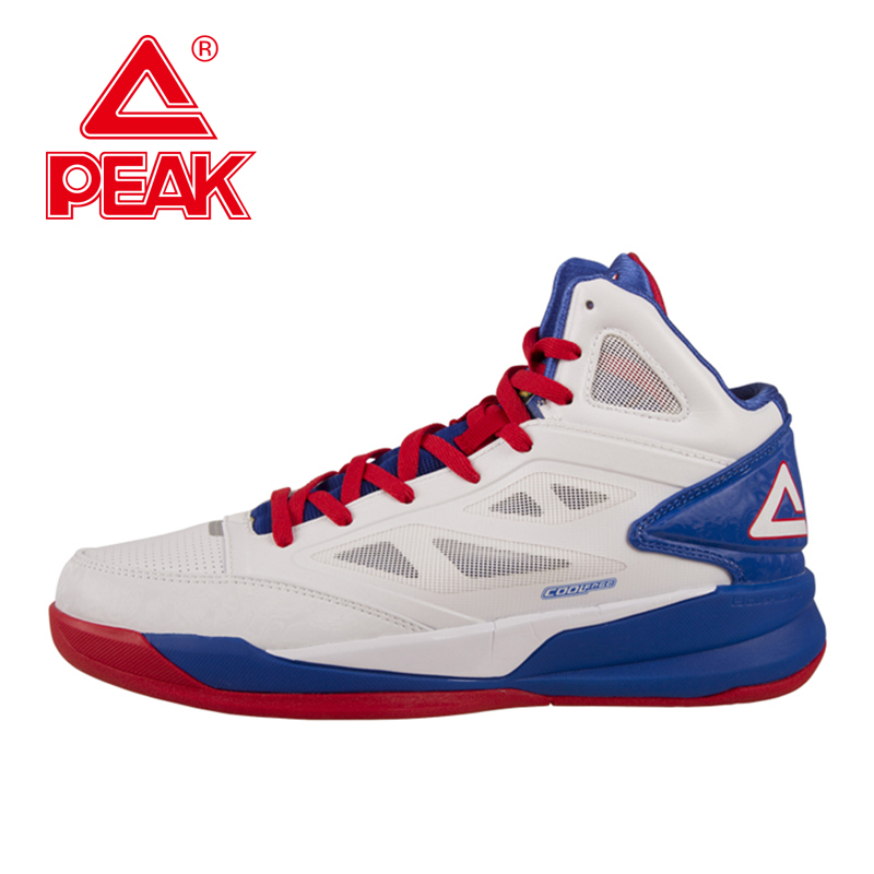 PEAK SPORT Soaring Men Basketball Shoes FOOTHOLD Cushion-3 COOLFREE Tech Athletic Ankle Boots Breathable Training Sneakers peak sport hurricane iii men basketball shoes breathable comfortable sneaker foothold cushion 3 tech athletic training boots