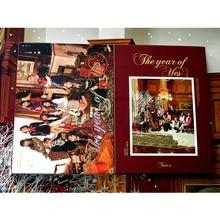 Подписанный дважды автограф 3-го альбома год да CD+ Фотокнига k-pop 012019