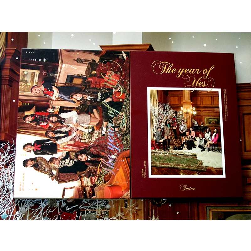 US $89 99 |signed TWICE autographed 3rd album THE YEAR OF YES CD+photobook  K POP 012019-in Photo Albums from Home & Garden on Aliexpress com | Alibaba