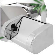 Stainless Steel Toilet Roll Paper Holder Waterproof Tissue Storage Box paper towel holder Bathroom Accessories цены онлайн