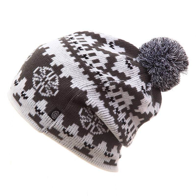 2019 Winter Ski Hat Warm Woolen Caps For Men Hats Female Beanies Skullies Quality Gorros Hombre Snowboard Cap gorros de lana 1