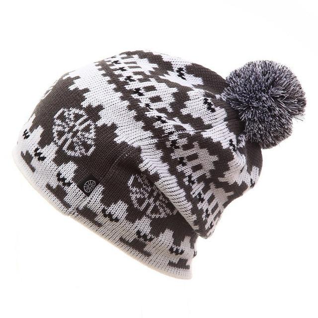 2019 Winter Ski Hat Warm Woolen Caps For Men Hats Female Beanies Skullies Quality Gorros Hombre Snowboard Cap gorros de lana 1