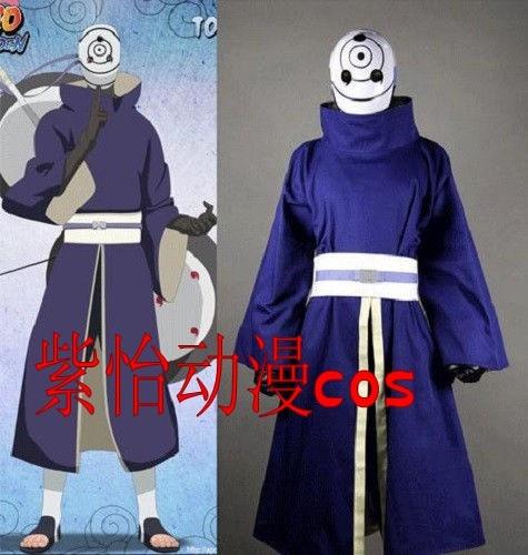 Naruto Akatsuki Ninja Tobi Obito Madara Uchiha Blue