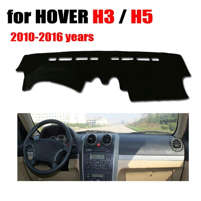 Приборной панели автомобиля охватывает мат для HOVER H3 H5 2010-2016 лет левый руль dashmat pad Даш крышка авто приборной панели аксессуары ...