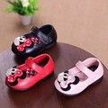 Mocasines de cuero Zapatos de Niña, Niño Primeros Caminante Calzado Scarpette Neonata Menina Bebé Primeros Zapatos Botines 503104