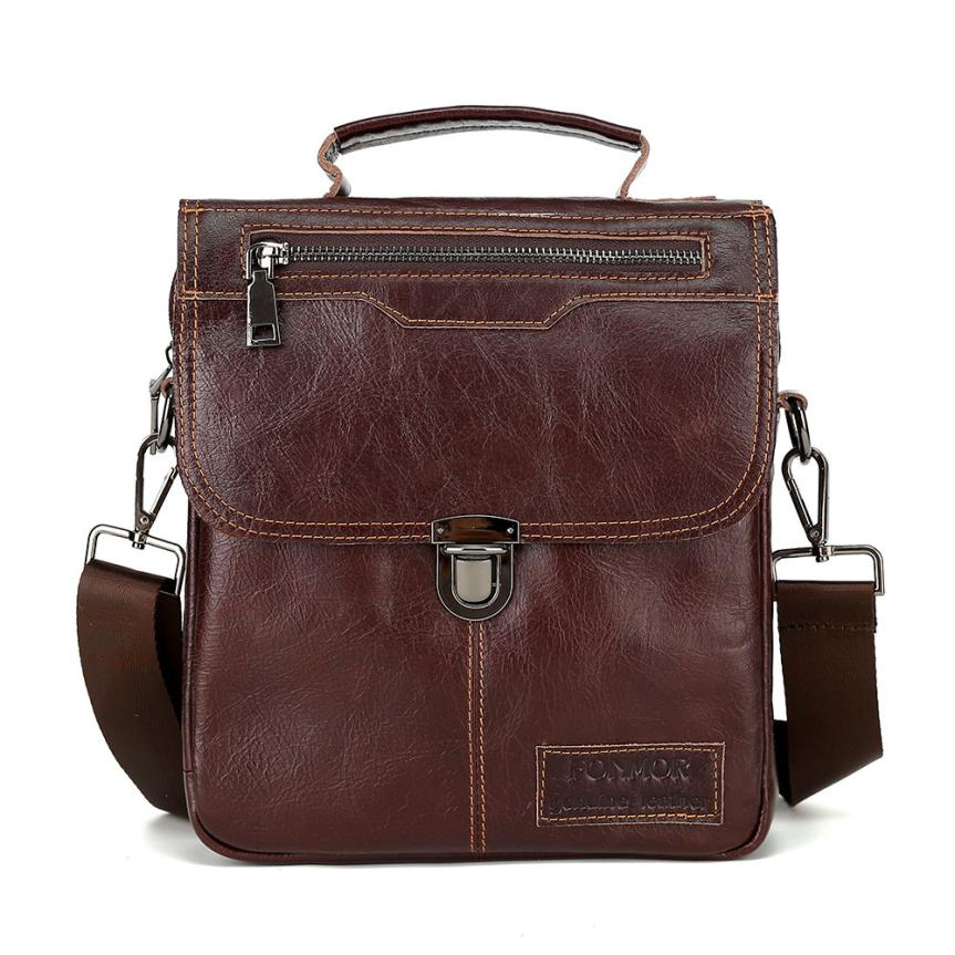 High Quality Genuine Leather bag men bags Men Messenger Bags male small flap Vintage Leather shoulder crossbody bags for man цена