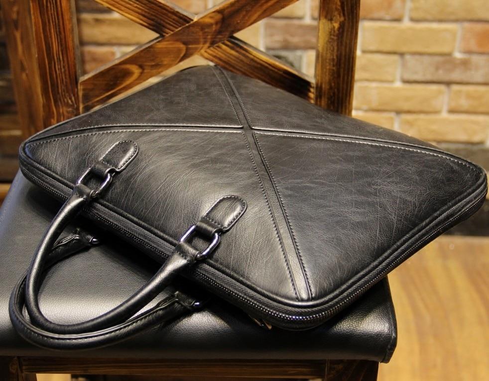 ⑥2018 OL office man Briefcase The single shoulder bag fashion