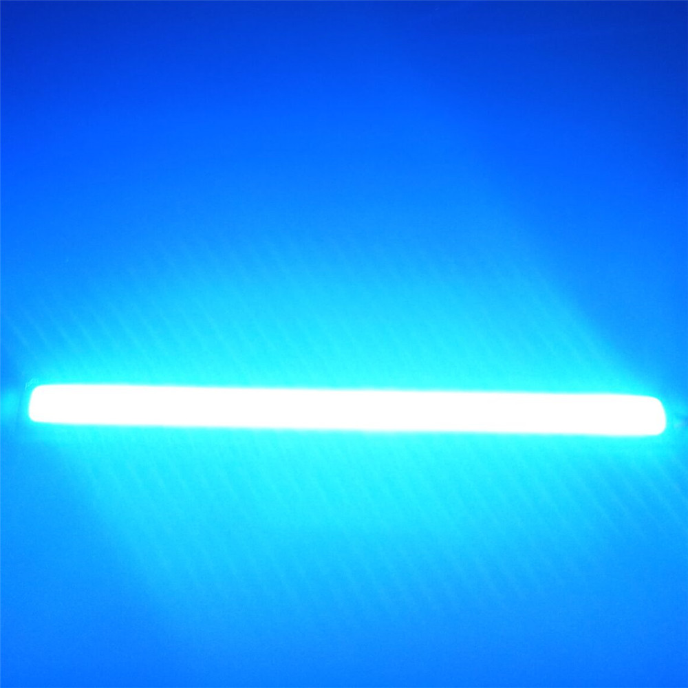 CYAN SOIL BAY 1 Pair 17CM 12V DRL Super White Blue Red Green Yellow Car COB LED Light Bulb Fog Driving Lamp Waterproof