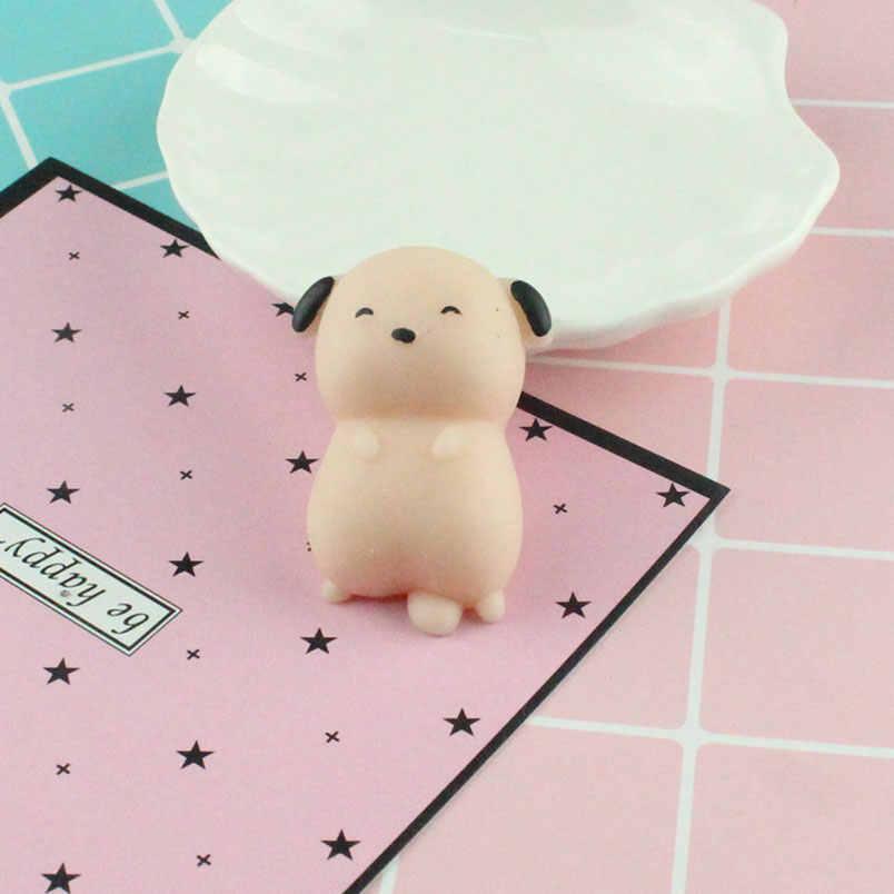 Squishy kot antystresowy zabawki Kawaii Stress Relief słodkie śmieszne zwierzęta wycisnąć rozrywki gadżet Kid nowość prezent dla dzieci zabawki