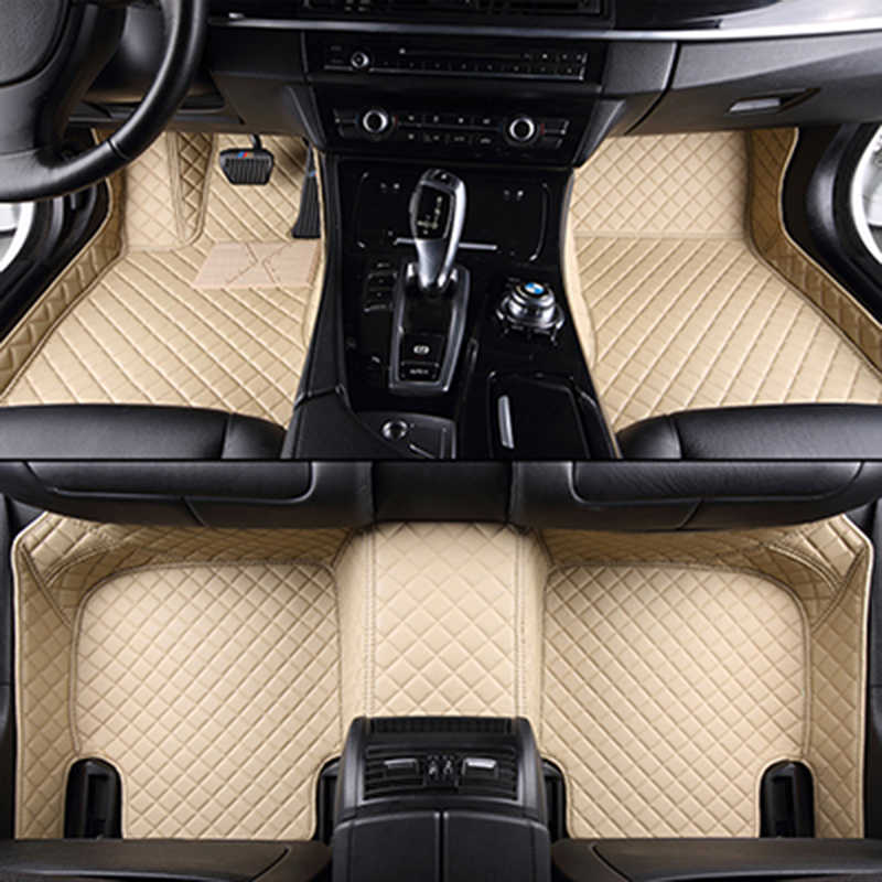 Tùy chỉnh xe thảm sàn cho KIA Tất Cả Các Mô Hình K2/3/4/5 Kia Sportage Cerato Optima Maxima carnival rio ceed xe styling tầng mat