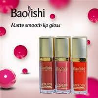 Baolishi pintalabios mate pintalabios sexi impermeable de larga duración lápiz labial líquido marca maquillaje