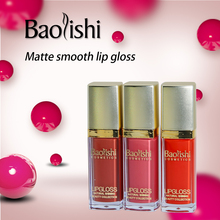 baolishi Lip Paint Lipstick Matte Sexy Hot waterproof Long lasting Gloss Kit Liquid lipstick brand makeup
