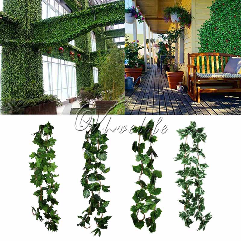 2.3m 4type artificial plants ivy vine fake foliage garland plants