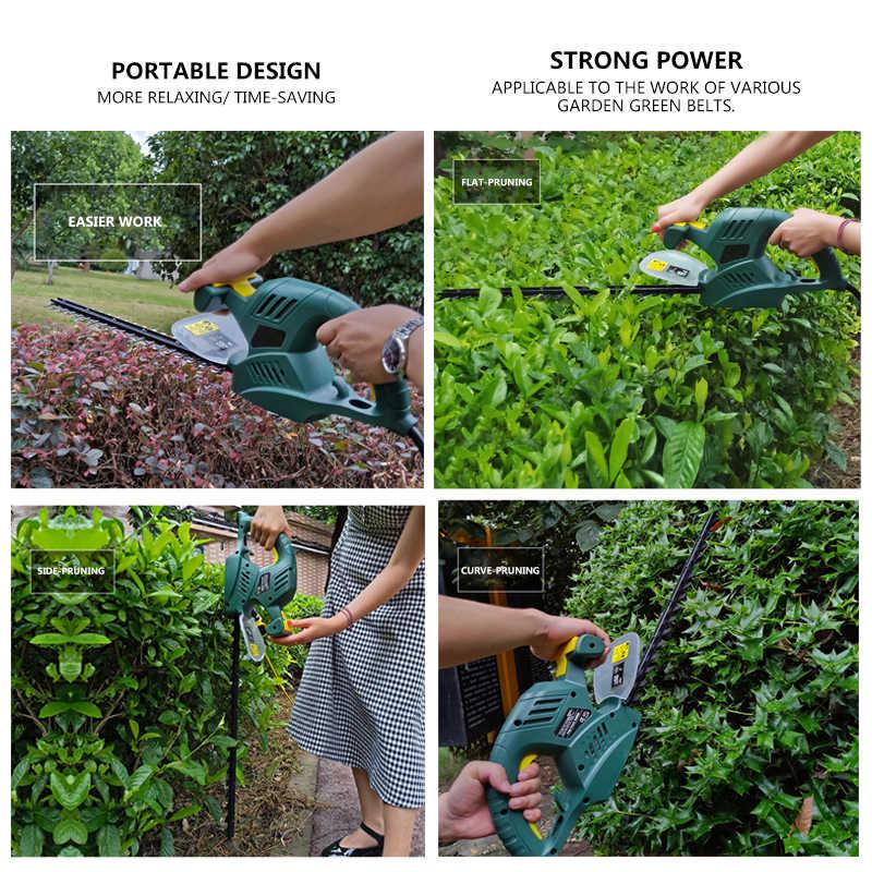 PRACMANU 600W sécateur électrique maison taille-haie jardin taille-haie taille-haie arbre à thé taille-haie