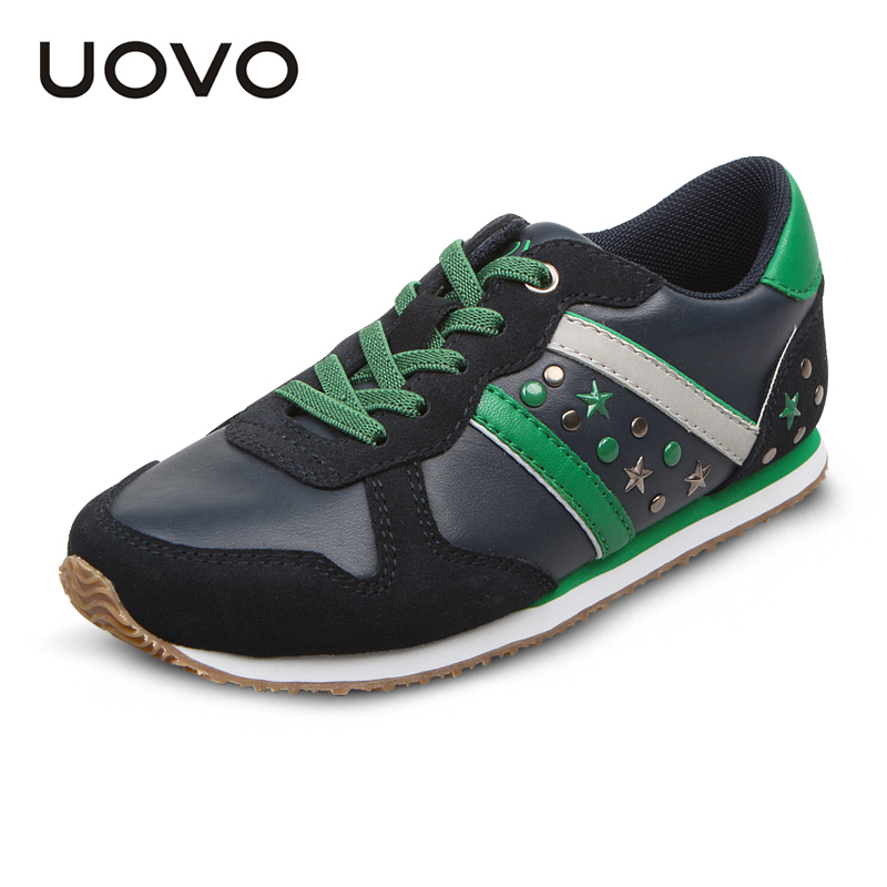 UOVO Spring/Autumn sport kids shoes for boys and girls children's running fashion sneakers brand shoes high quality