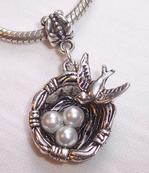 10pcslot antique silver birds nest eggs charms pendant for 10pcslot antique silver birds nest eggs charms pendant for necklacebracelet fitting fashion jewelry wholesale accessories a131 in pendants from jewelry aloadofball Choice Image