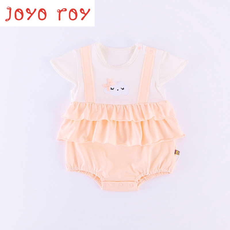 Joyo roy New Summer Baby Onesies Childrens Clothing Cotton Triangle jumpsuits Baby Girls Clothes Kids Bodysuits dj0052 Bodysuit