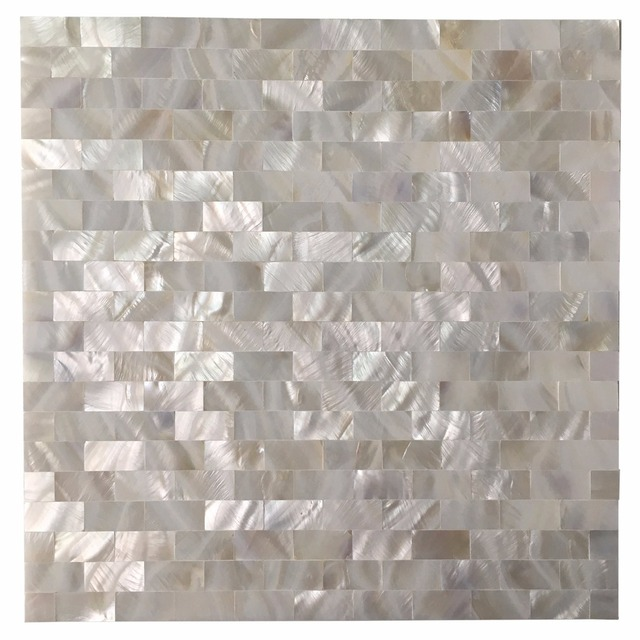 Aliexpress Com Buy 6 Pack Mother Of Pearl Shell Tile For