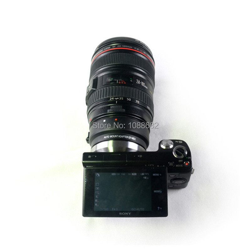 EF-NEX lens adapter for camera dslr (4)