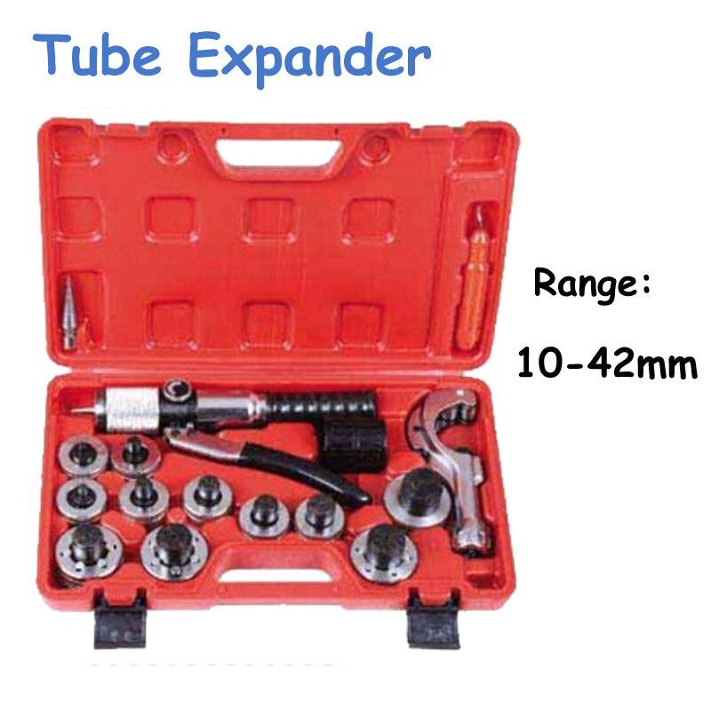 Ручная гидравлическая трубка расширитель 10 мм 42 мм Расширение набор инструментов (3/8 до 1 5/8) CT 300AL