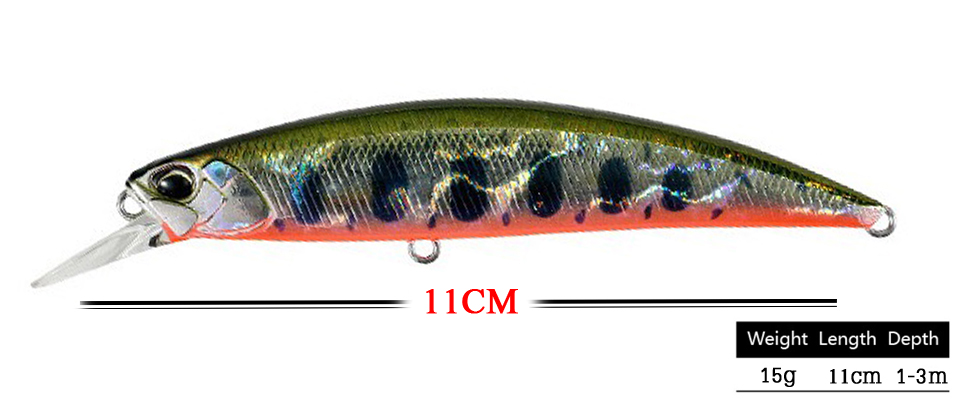 Hard Fishing Lure Crank Bait 5
