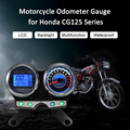 Motorcycle LCD Digital Odometer Tachometer Gauge for Honda Suzuki