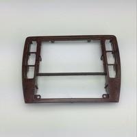 For VW Passat B5 Instrument Central CD Box Cherry Wood Decoration Radio Trim Panel Wooden Air