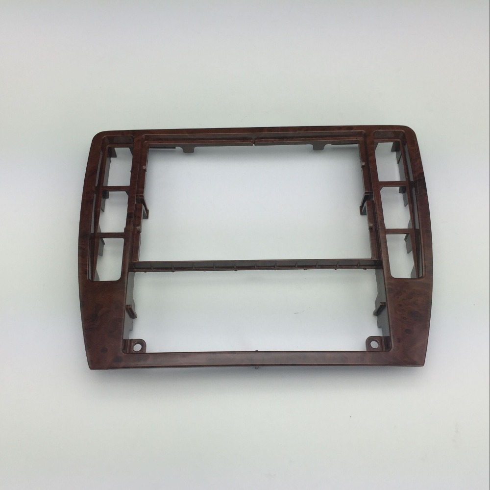 for VW Passat B5 Instrument Central CD Box Cherry Wood Decoration Radio Trim Panel Wooden Air Conditioning Frame 3B0 858 069