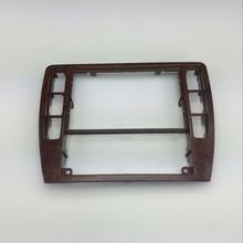 Для VW Passat B5 Инструмент центральной CD Box Cherry деревянные украшения радио отделкой Панель деревянный кондиционер Frame 3B0 858 069