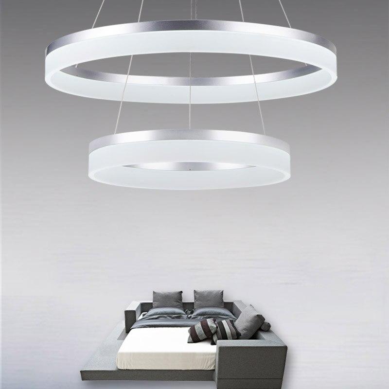 Us 135 0 Moderne Led Wohnzimmer Esszimmer Anhanger Lichter Suspension Leuchte Led Ring Beleuchtung Lampe Leuchte Wohnzimmer Foyer Droplight In