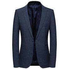 Мужские костюмы для отдыха блейзер в полоску камуфляжный пиджак
