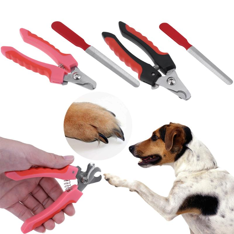 Professional Stainless Steel Dog Pet Grooming Nail Scissors Claw Nail Clippers Animal Nail Scissor Nail Cutter Tool Dog Supplies