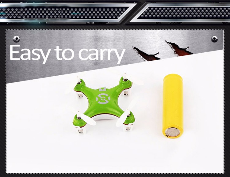 MINI RC Helicopter Cheerson CX-10 CX10 Mini Drone 2.4G 4CH 6 Axis LED RC Quadcopter Toy Helicoptero with LED light Toys for Kids (2)