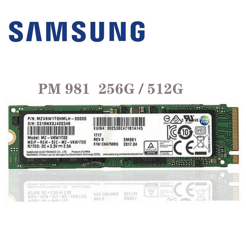 SAMSUNG 970 EVO 970EVO 250 gb 500 gb 1 tb NVMe M.2 SSD PCIe 3.0x4 PC Ordinateur Portable De Bureau serveur Ssd Interne Dribe 250g 500g