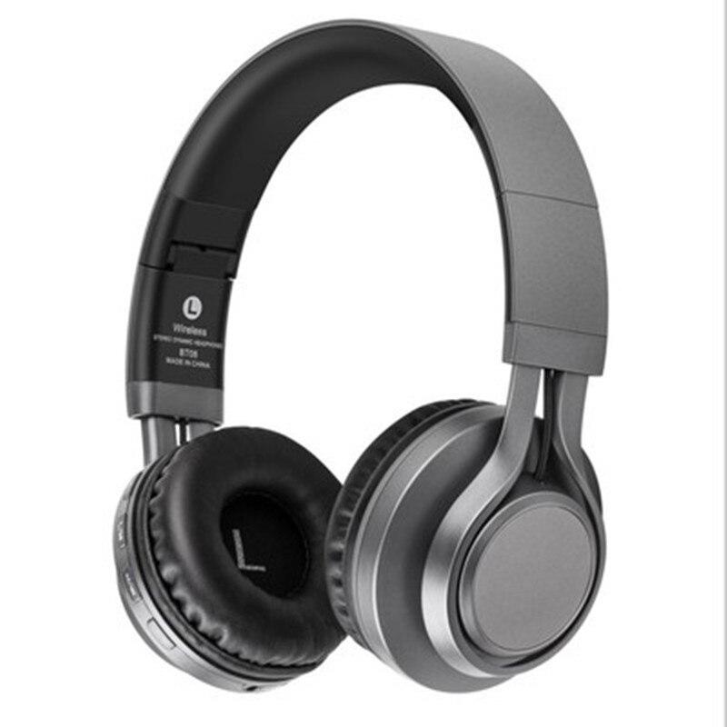 bluetooth wireless headphones stereo foldable sport earphone microphone headset handfree MP3 FT card for xiaomi ipone