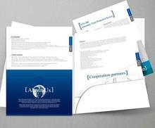 Хорошее Zuoluo A4 папки карман печати Пользовательский Файл крышка печати с слот