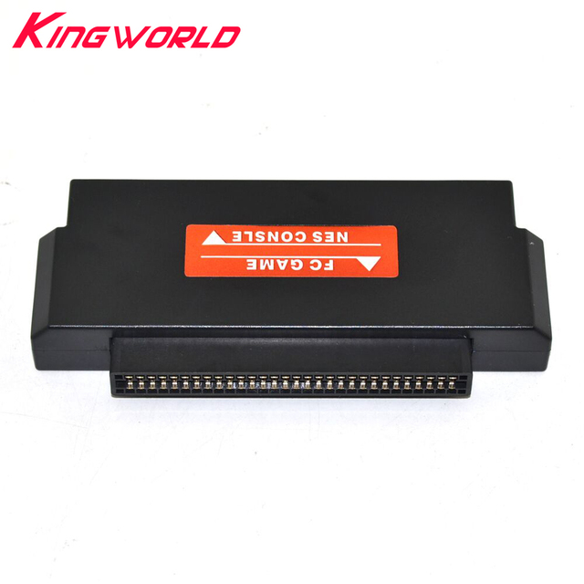 Black 60 Pin to 72 Pin FC to NES Adapter