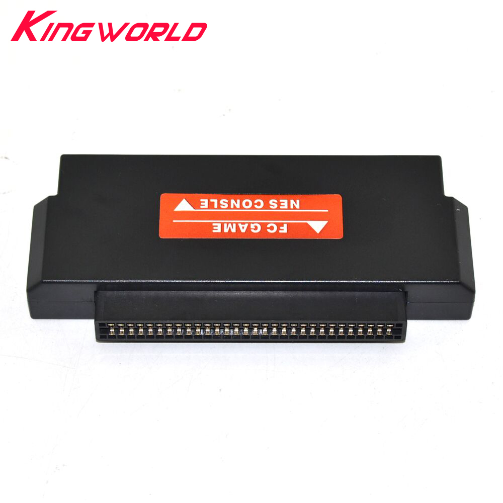 Black 60 Pin To 72 Pin Adapter Converter For Nintendo For FC To For NES Console Systeme