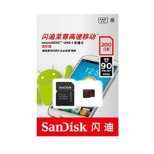 SanDisk Micro SD 200GB Memory Card in MicroSDXC high speed up to Max 90M/s Uitra Class10 TF Flash Card